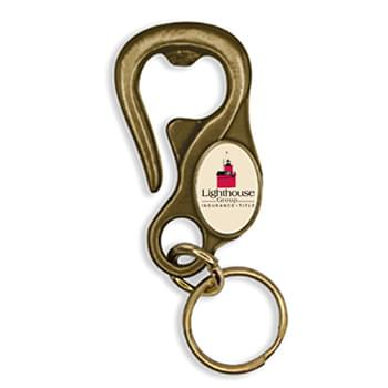 Belt Loop Bottle Opener Keychain