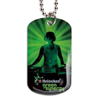 Stainless Steel Full Color Dog Tags