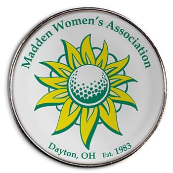 PitchFix® Custom Golf Ball Marker w/Full Color Imprint