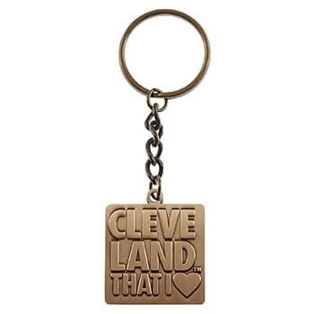 "1 1/2"" Custom Die Cast Key Tag"