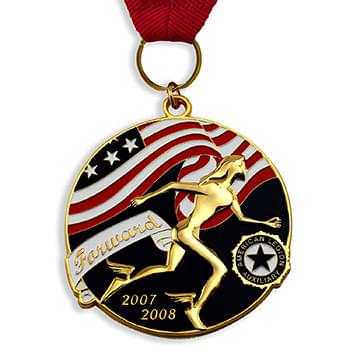 "1 3/4"" Die Cast Medal or Charm"