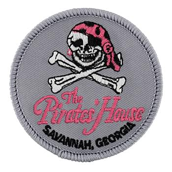 "2 1/2"" Embroidered Patches - 70% Thread Coverage"