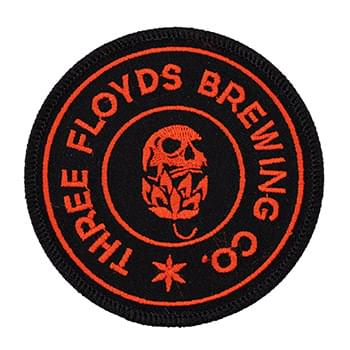 "4 1/2"" Embroidered Patches- 70% Thread Coverage"