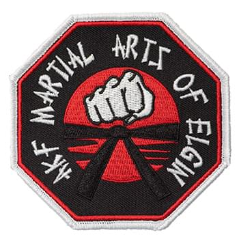 "5"" Embroidered Patch - 70% Thread Coverage"