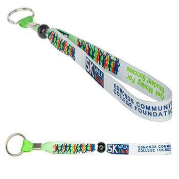 "B-Band Wristband Keychain (5/8"")"