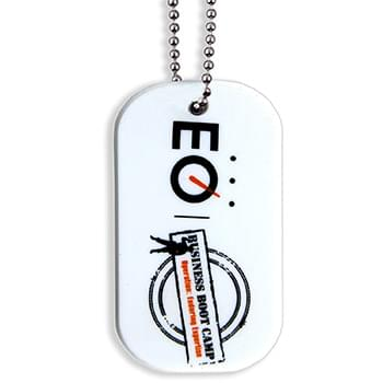 PVC Dog Tag w/ Silk-Screened Imprint